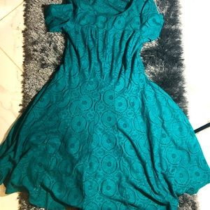 Rabbit Rabbit Rabbit Green Dress Size 12 NWT